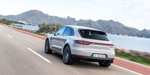 2019 Porsche Macan First Drive Review Road Track