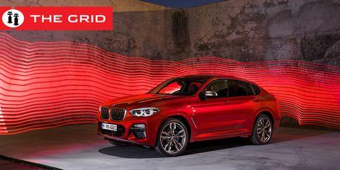 Land vehicle, Vehicle, Car, Bmw, Motor vehicle, Automotive design, Alloy wheel, Red, Automotive tire, Luxury vehicle,