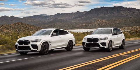 2020 BMW X5M X6M Competition first drive review