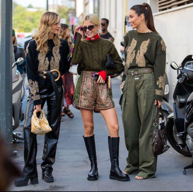 street style day 3 milan fashion week spring summer 2022