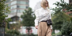 Street Style - New York Fashion Week September 2018 - Day 6