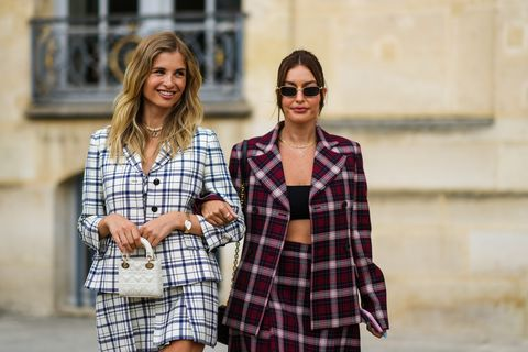 street style paris fashion week  haute couture fall winter 2021 2022  day one
