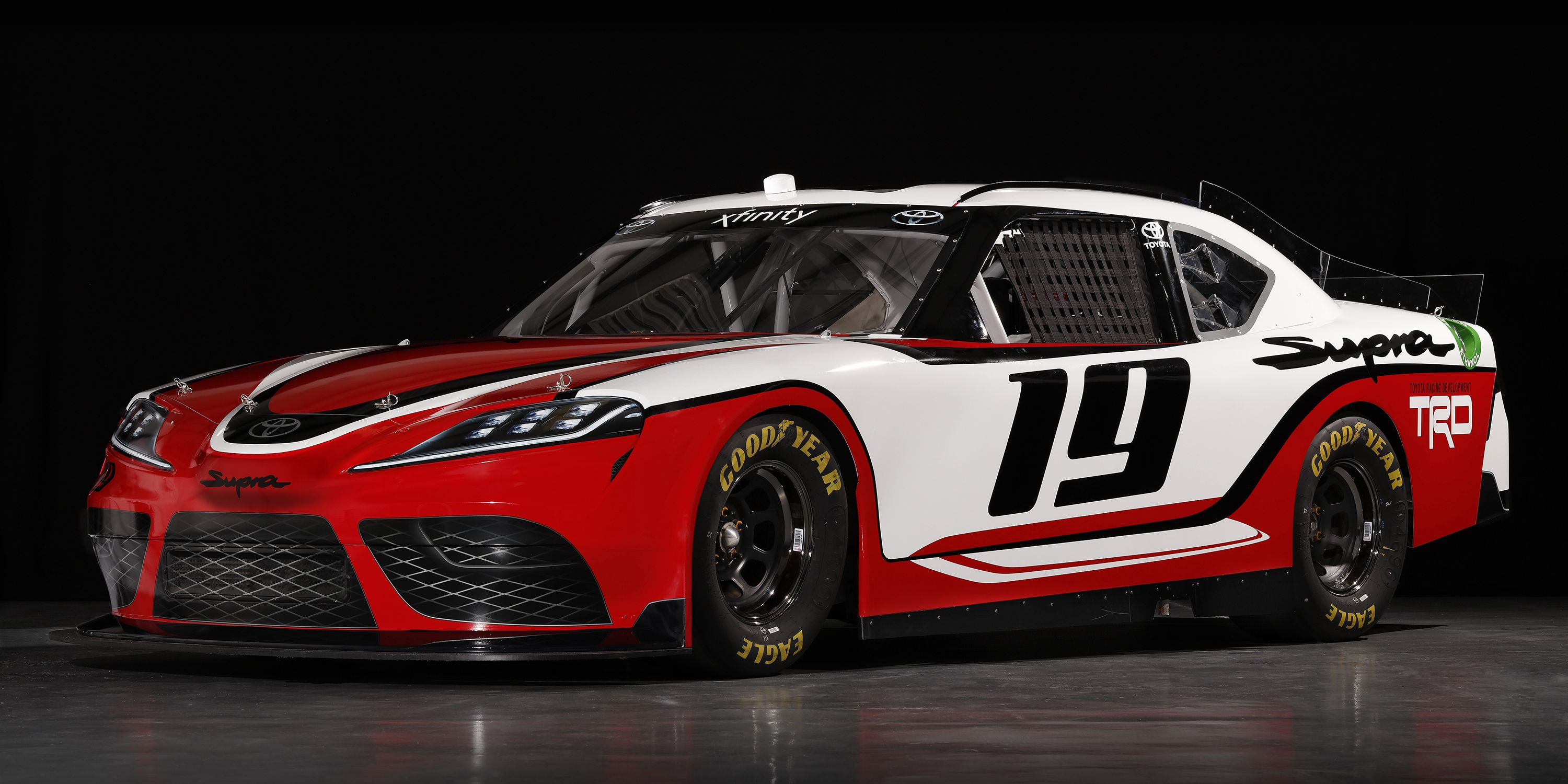 This Is The Toyota Supra That Will Race In Nascar S Xfinity Series 2019