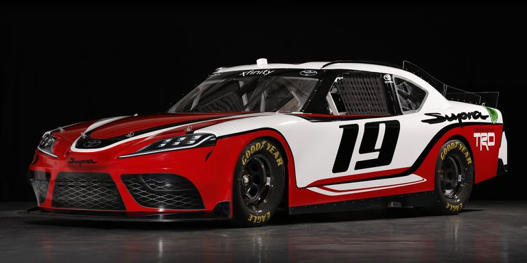 This Is The Toyota Supra That Will Race In Nascar S