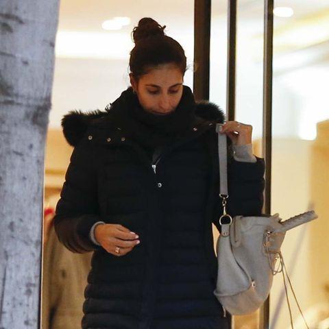 Xisca Perelló de compras por Madrid