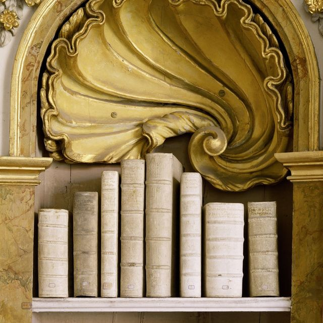massimo listri,taschen klosterbibliothek ottobeuren, ottobeuren, germany detail