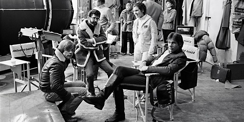 These Amazing Archival 'Star Wars' Photos Take You Behind the Scenes of the Original Trilogy