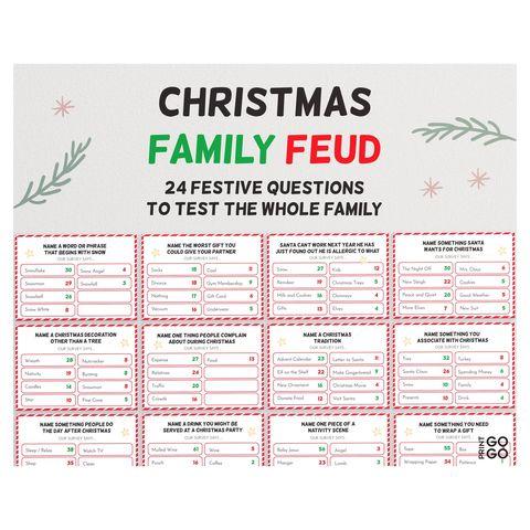 christmas family feud