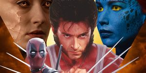 X-Men movies, Jean Grey, Wolverine, Mystique, Deadpool, Professor X
