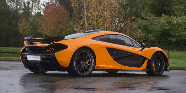 This Super-Rare McLaren P1 Prototype Is Up For Sale