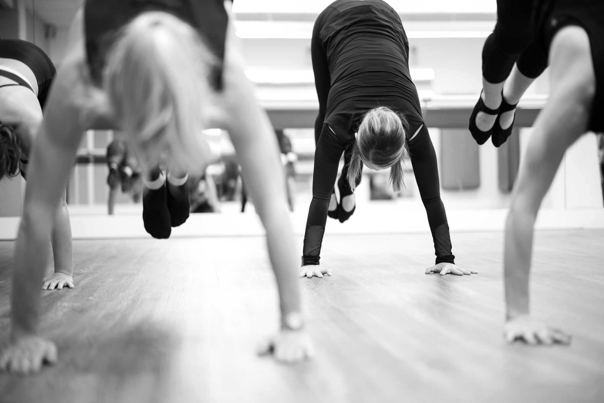 Barre class at Xtend