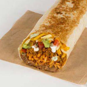 XXL grilled stuft burrito