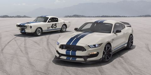 Ford Mustang Shelby GT350 Heritage Edition Channels the '65 GT350