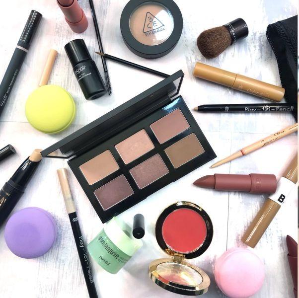 韓國必買美妝,游絲棋,韓國美妝掃貨記,試色分享,腮紅,3ce,底妝