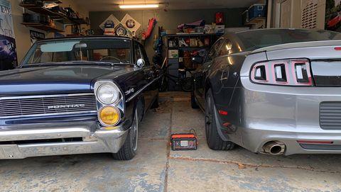 Pontiac storage