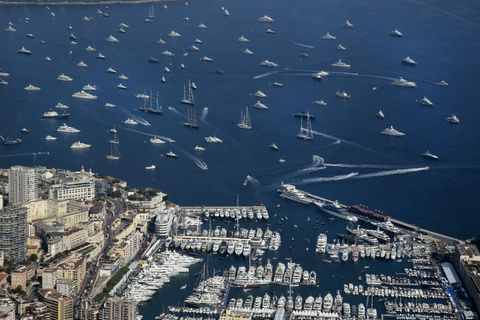Monaco Yacht Show  :  Day Two In Monaco