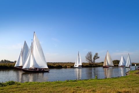 Yachts on the Bure