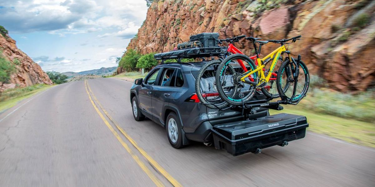 Yakima Exo System Grows Utility from Your Vehicle's Trailer Hitch