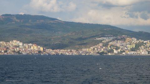Yalova on Armutlu Peninsula Facing Sea of Marmara and Samanli Mountain Ranges Behind
