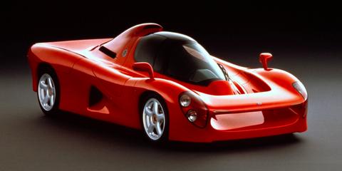 land vehicle, vehicle, car, sports car, automotive design, race car, supercar, sports prototype, coupé, concept car,