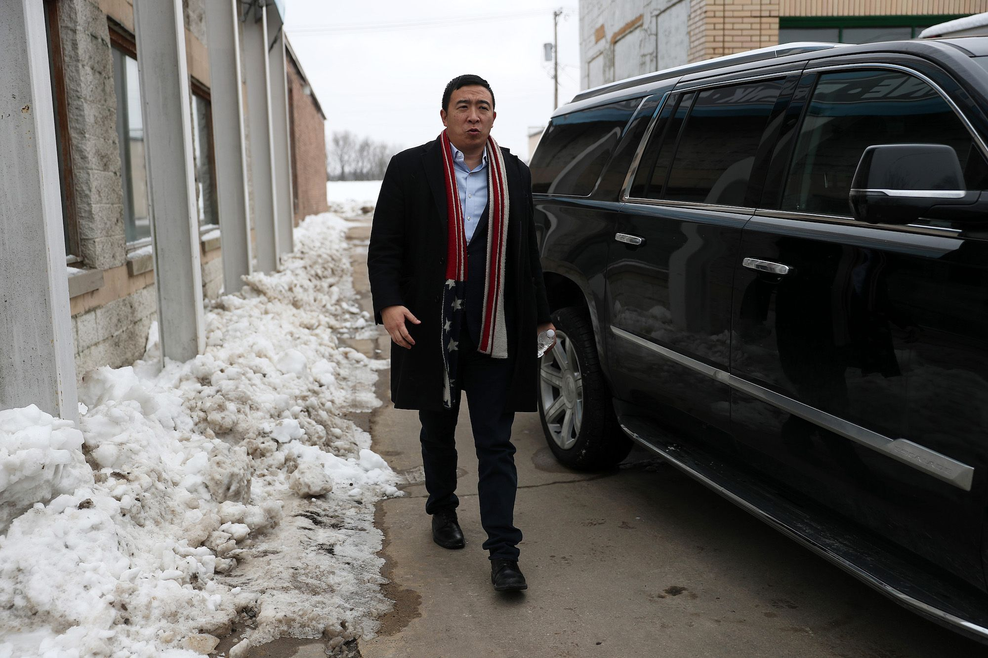 At an Iowa Native Settlement, the Big Caucus Surprise Was Andrew Yang