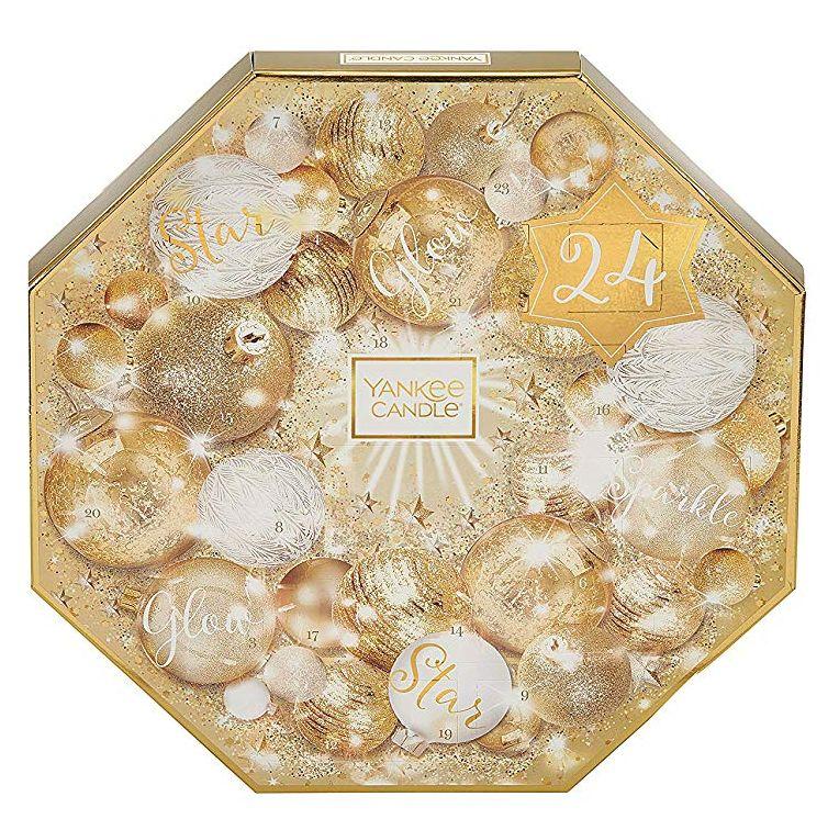 Yankee Candle Advent Calendar Golden Wreath Gift Set