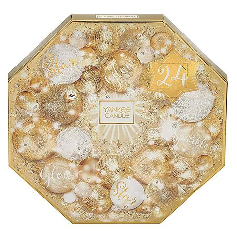 Yankee Candle Advent Calendar Golden Wreath Gift Set