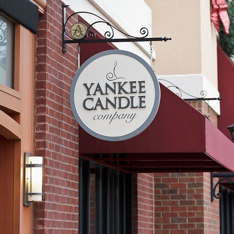 Yankee Candle at a shopping mall in Tennessee