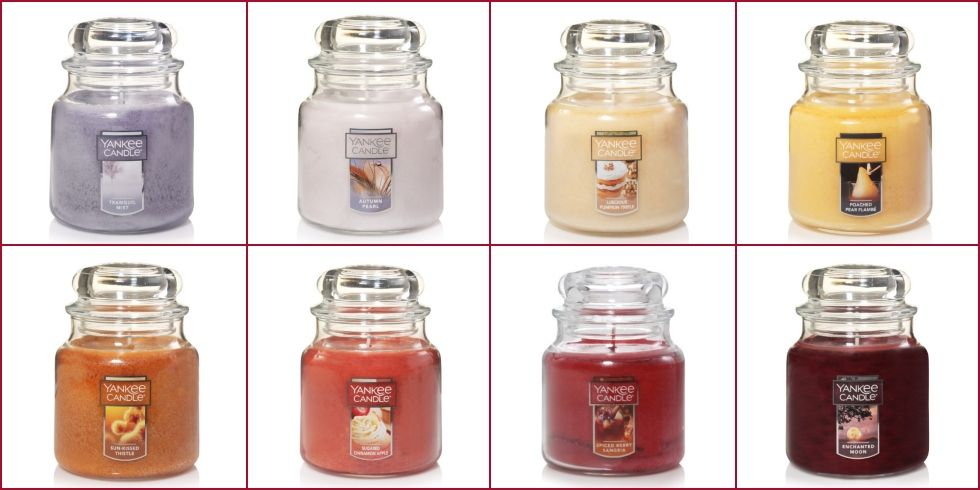 yankee candle fall 2018
