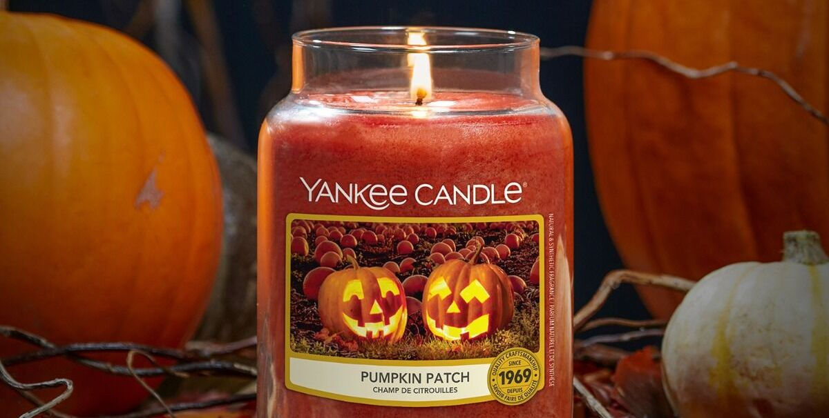 Yankee Candle Launches Autumn Candle For Halloween, Pumpkin Patch