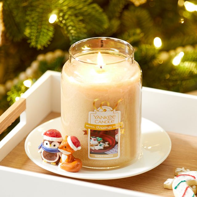 yankee candle holiday scent