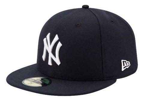 new style 78bb9 08f98 History of Yankees Cap - New Era Yankees Cap at MoMA Exhibit
