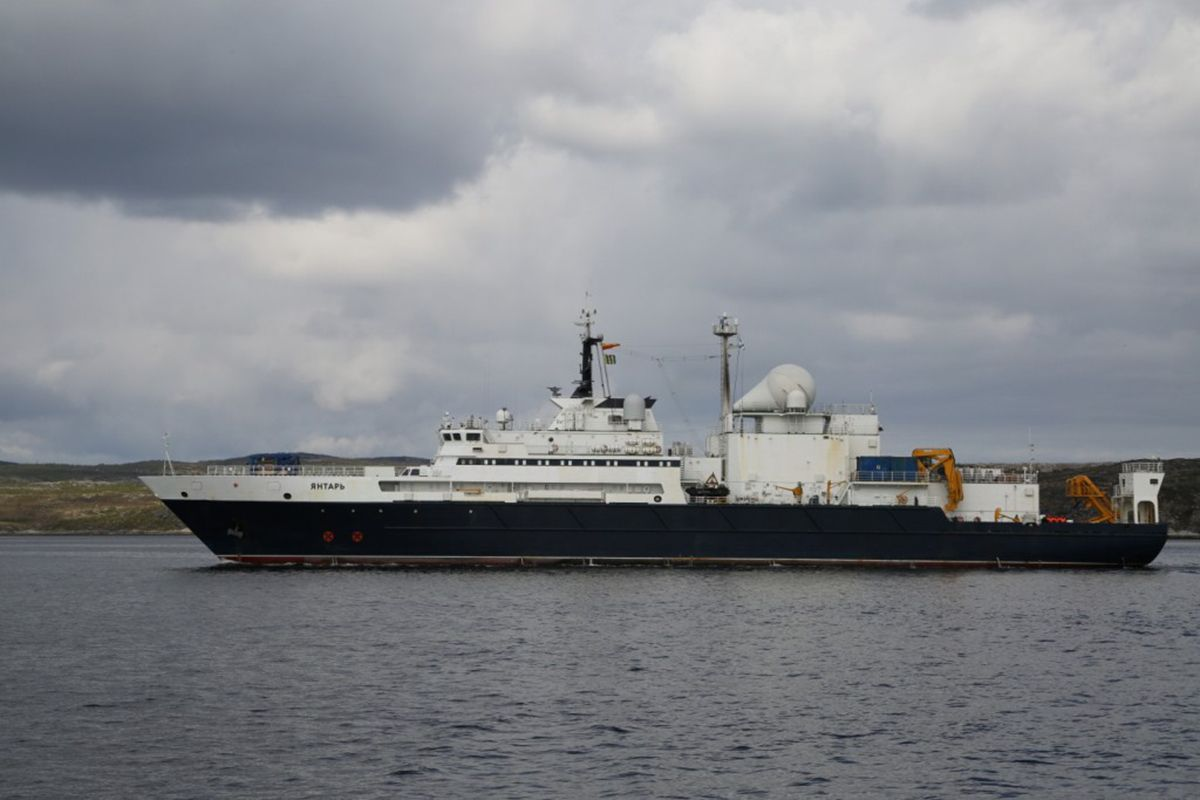Why Is Russia's Spy Ship Near American Waters?
