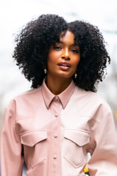 yara shahidi   curtain bangs