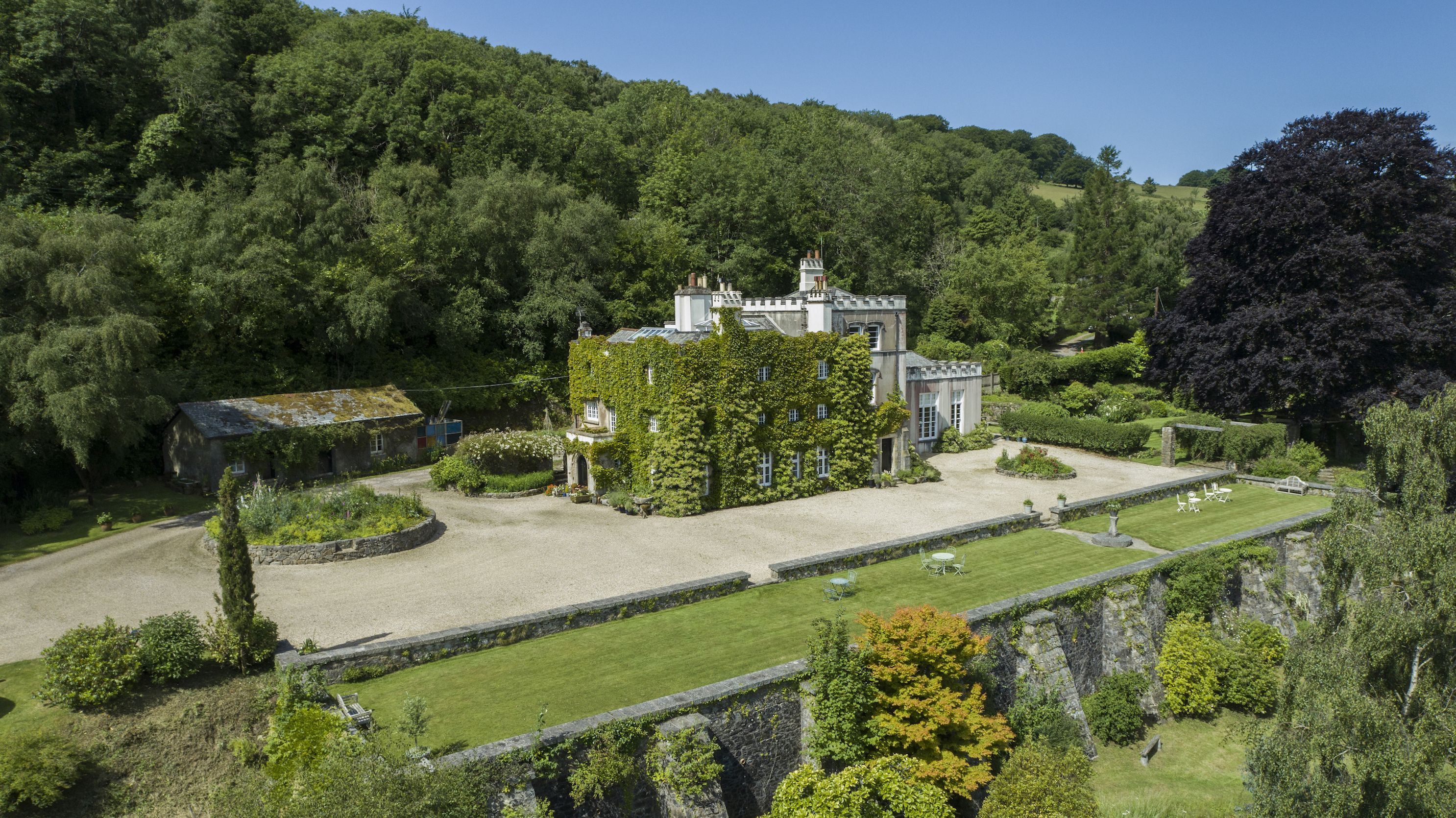 Castellated country house for sale in Devon for first time in 50 years