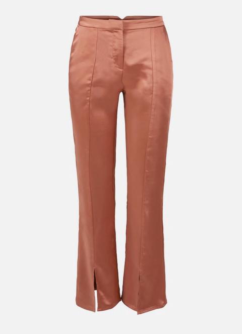 Clothing, Orange, Pocket, Trousers, Jeans, Waist, Outerwear, Peach, Button, Active pants,