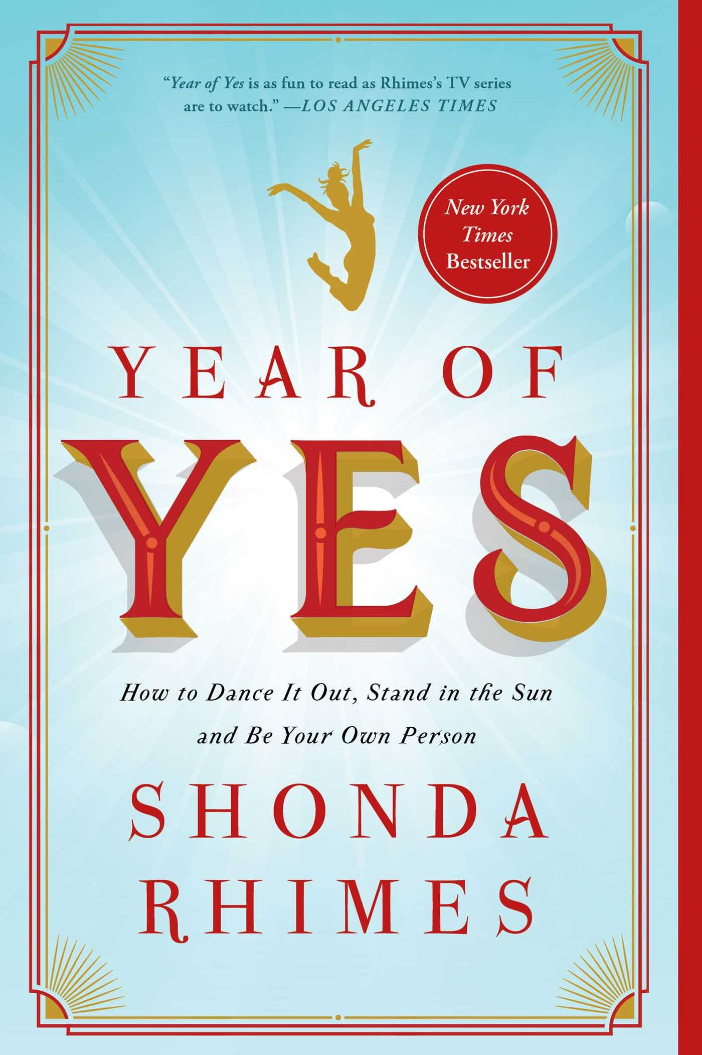 'Year of Yes 'by  Shonda Rhimes