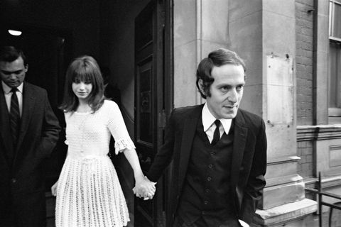 Jane Birkin and John Barry Wedding