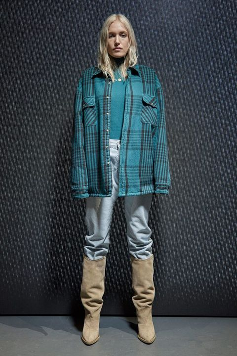 Clothing, Collar, Sleeve, Textile, Shoe, Outerwear, Boot, Style, Riding boot, Pattern,