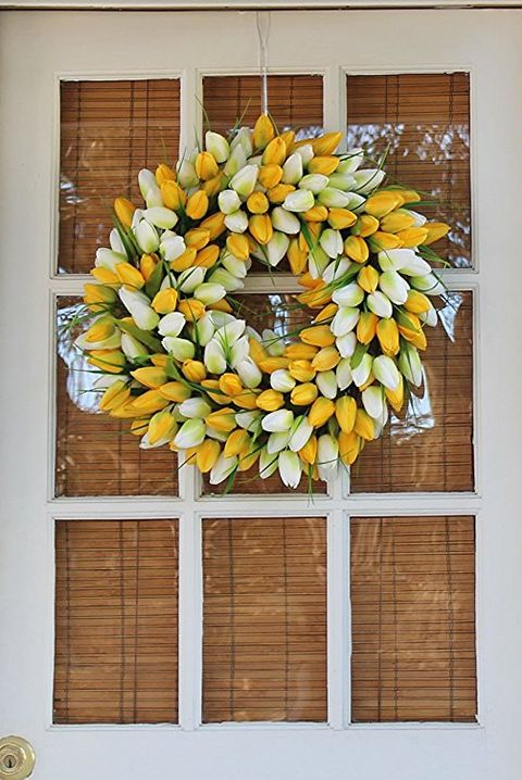 35 Spring Wreaths - Easter & Spring Door Decorations Ideas