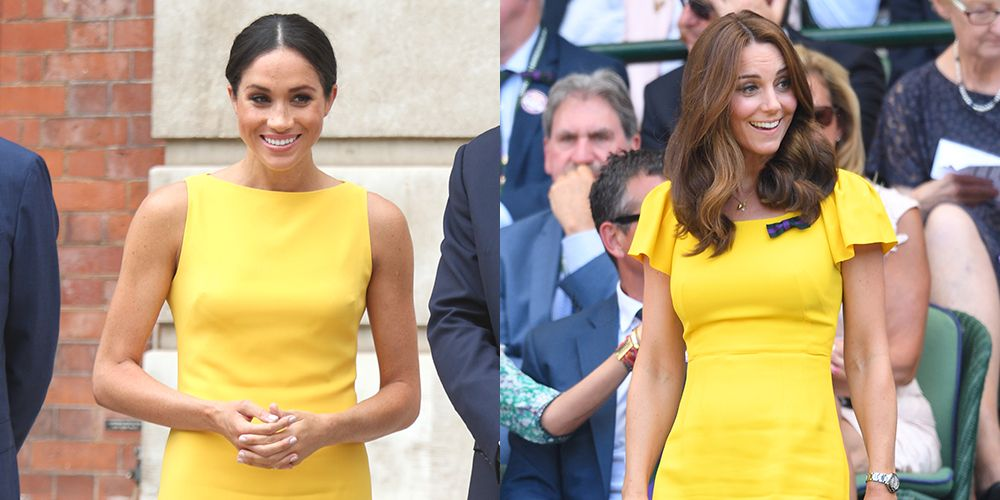 1dce1177 Score Kate Middleton and Meghan Markle's Yellow Dresses for as Low as $19