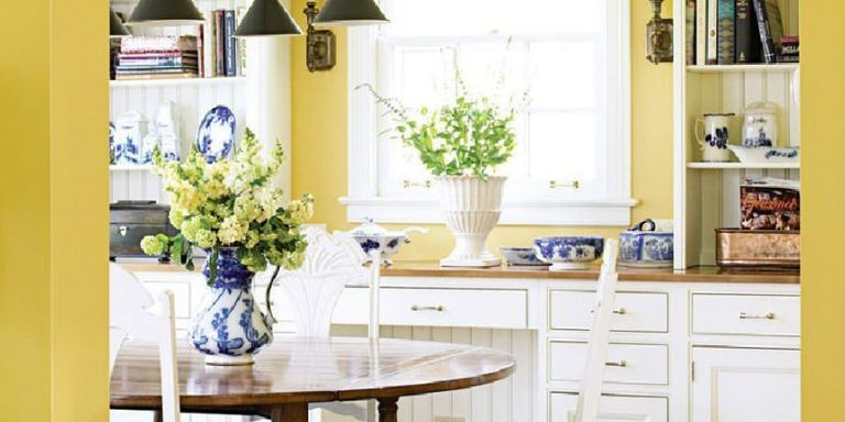 give your kitchen a burst of energy with these bright decorating ideas from some of our favorite designers - Decorating Ideas Kitchen