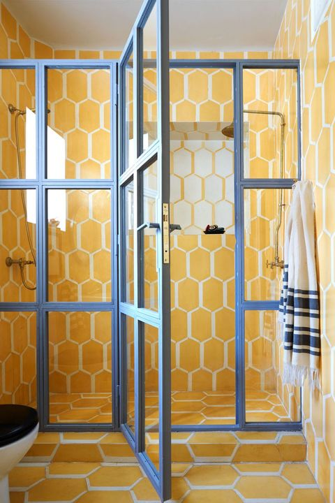 Yellow Bathroom Inspiration