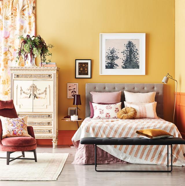 yellow decor, yellow room ideas