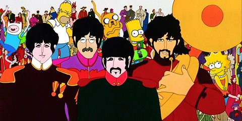 The Simpsons Wouldn't Exist Without Yellow Submarine