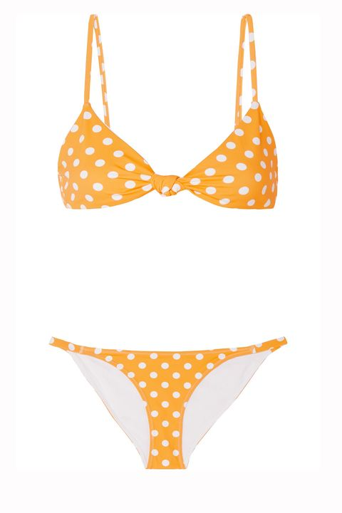 Caroline Constas polka dot bikini