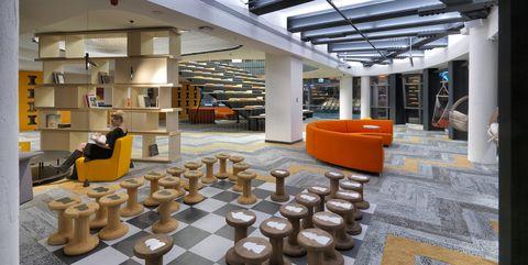 Nuevo concepto de oficina y espacio de trabajo: Yemeksepeti Park, de Erginoğlu & Çalışlar Architects. Foto: Cemal Emden
