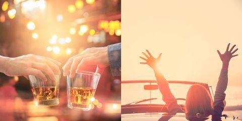 Light, Sky, Orange, Lighting, Yellow, Heat, Hand, Photography, Finger, Drink,