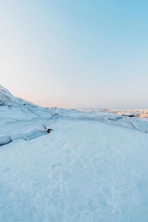 Sky, Snow, Winter, Ice, Blue, Freezing, Natural environment, Arctic, Ocean, Sea,