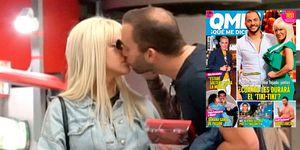 Antonio Tejado e Ylenia, besos en el AVE